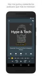 Captura 5 de Spreaker Podcast Player - Escucha podcasts gratis para android