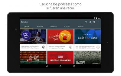 Imágen 12 de Spreaker Podcast Player - Escucha podcasts gratis para android