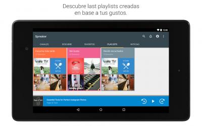 Screenshot 14 de Spreaker Podcast Player - Escucha podcasts gratis para android