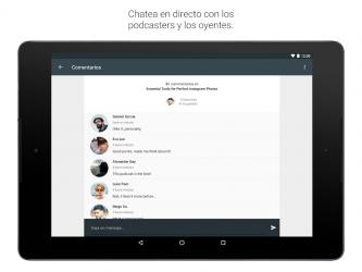 Screenshot 11 de Spreaker Podcast Player - Escucha podcasts gratis para android