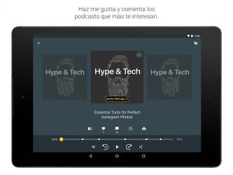 Captura 10 de Spreaker Podcast Player - Escucha podcasts gratis para android