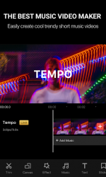 Screenshot 2 de Tempo - Music Video Editor with Effects para android