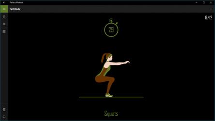 Captura de Pantalla 11 de Perfect Workout para windows