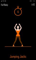 Captura de Pantalla 4 de Perfect Workout para windows