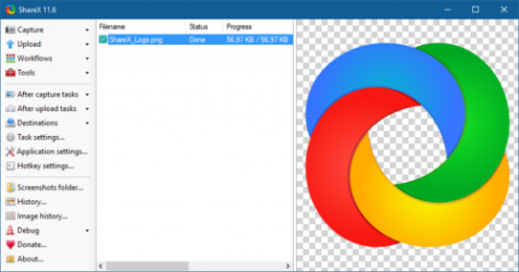 Captura de Pantalla 2 de ShareX para windows