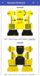 Captura de Pantalla 3 de Dream Kits Soccer para android