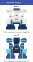 Captura de Pantalla 4 de Dream Kits Soccer para android