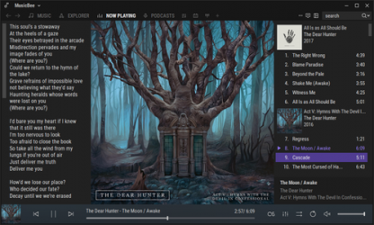 Captura 3 de MusicBee para windows