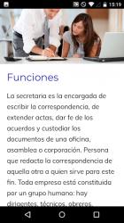 Screenshot 4 de Curso de Secretariado para android