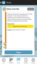 Screenshot 5 de ten+móvil (Vía-Móvil) para android