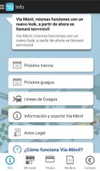Captura de Pantalla 9 de ten+móvil (Vía-Móvil) para android