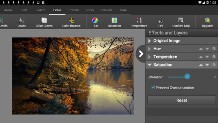 Captura de Pantalla 7 de PhotoPad Photo Editor Free para android