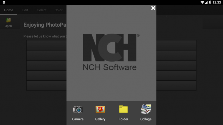 Captura 2 de PhotoPad Photo Editor Free para android