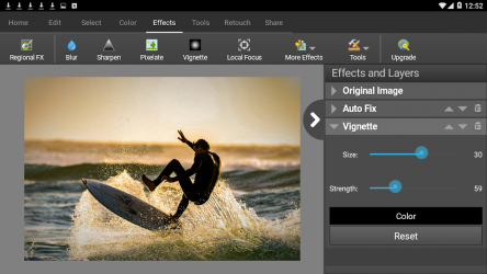 Captura 11 de PhotoPad Photo Editor Free para android