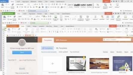 Screenshot 1 de WPS Office para windows