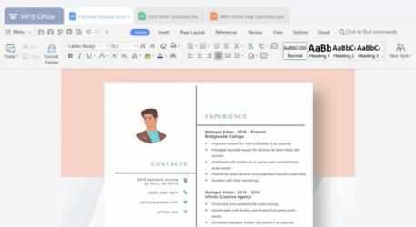 Screenshot 2 de WPS Office para windows
