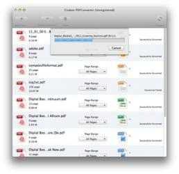 Captura 2 de Cisdem PDFConverter para mac