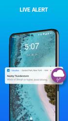 Captura de Pantalla 7 de 1Weather :Weather Forecast, Weather Radar & Alerts para android