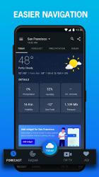 Captura de Pantalla 3 de 1Weather :Weather Forecast, Weather Radar & Alerts para android