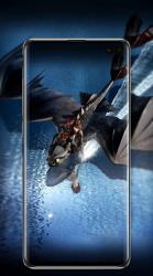 Captura de Pantalla 3 de Dragon 3 Wallpaper para android