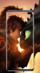 Captura de Pantalla 4 de Dragon 3 Wallpaper para android