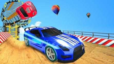 Captura de Pantalla 10 de GT coche acrobacias furioso trucos reto para android