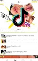 Captura de Pantalla 11 de ELLE : news, mode, beauté, people, food & astro para android