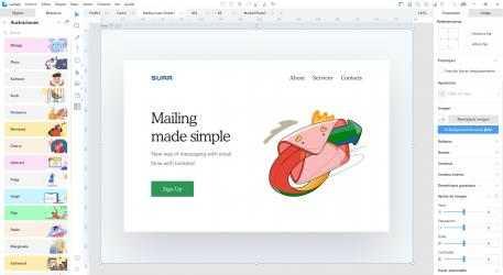 Screenshot 4 de Lunacy - editor de diseño gráfico para windows
