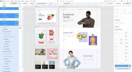 Captura de Pantalla 2 de Lunacy - editor de diseño gráfico para windows