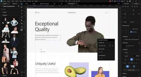 Captura 5 de Lunacy - editor de diseño gráfico para windows