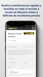 Captura de Pantalla 6 de ecoPayz - Servicios de pagos seguros para android