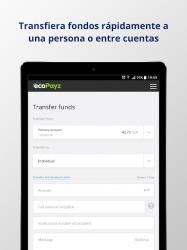 Captura de Pantalla 9 de ecoPayz - Servicios de pagos seguros para android