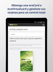 Imágen 10 de ecoPayz - Servicios de pagos seguros para android