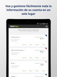Captura 7 de ecoPayz - Servicios de pagos seguros para android