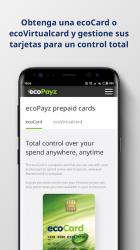Captura de Pantalla 5 de ecoPayz - Servicios de pagos seguros para android