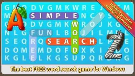 Captura de Pantalla 1 de Simple Word Search para windows