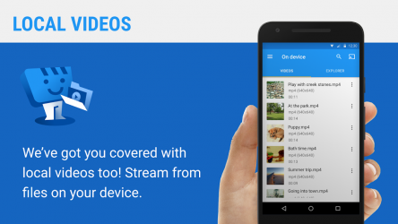 Captura de Pantalla 5 de Web Video Caster Receiver para android