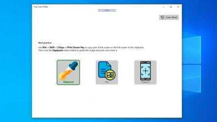Captura 1 de Free Color Picker: color picker from screen, html color picker, hex color picker para windows