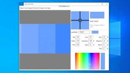 Captura 3 de Free Color Picker: color picker from screen, html color picker, hex color picker para windows