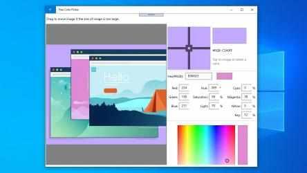 Screenshot 2 de Free Color Picker: color picker from screen, html color picker, hex color picker para windows
