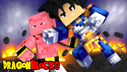Imágen 2 de Dragon Block Saiyan para Minecraft PE para android