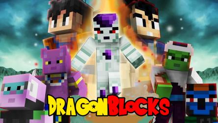 Captura 4 de Dragon Block Saiyan para Minecraft PE para android