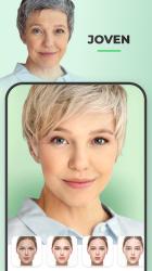 Captura de Pantalla 4 de FaceApp: Editor facial, de maquillaje y belleza para android
