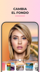 Captura 5 de FaceApp: Editor facial, de maquillaje y belleza para android