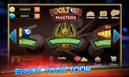 Screenshot 3 de Pool Tour Masters para windows