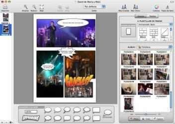 Screenshot 3 de Comic Life para mac