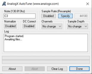 Screenshot 1 de Autotune para windows