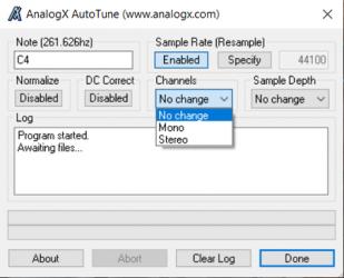 Captura 3 de Autotune para windows