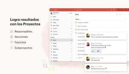 Captura de Pantalla 4 de Todoist: To-Do List and Task Manager para windows