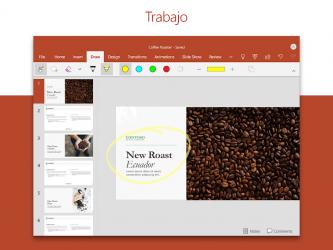 Captura de Pantalla 13 de PowerPoint: Diapositivas y presentaciones para android